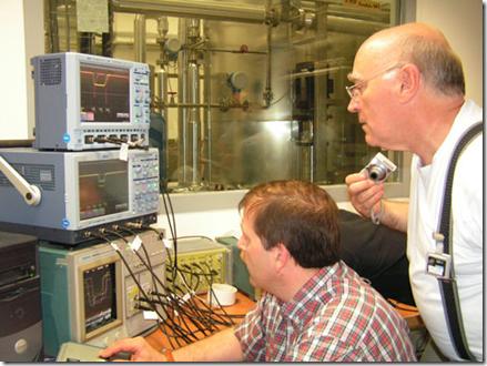 Ejemplo de instrumentos de medición usados en el sincrotrón Soleil
