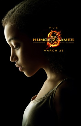 The Hunger Games Amandla Stenberg is Rue