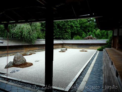 Kyoto - Templo Ryoanji - Gloria Ishizaka 1
