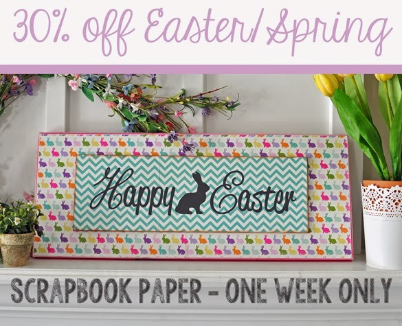 Easter-Scrapbook-Paper-Sale