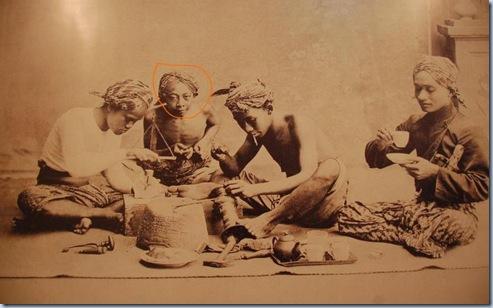 Pengrajin Yogyakarta pada tahun 1900-an