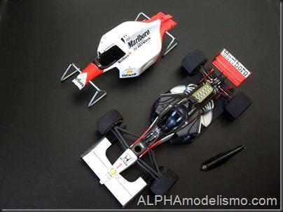 McLaren MP4-7 Ayrton Senna