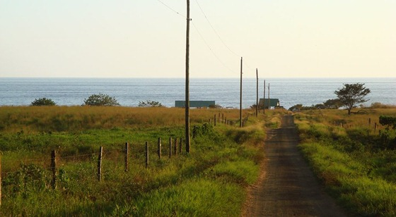 Camaronal_Beach_Road