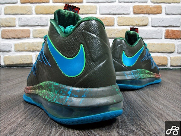 Nike Air Max LeBron X Low 8220Swamp Thing8221 Release Date