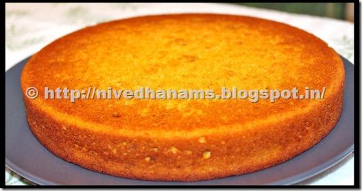 Eggless Mango Cake - IMG_1848