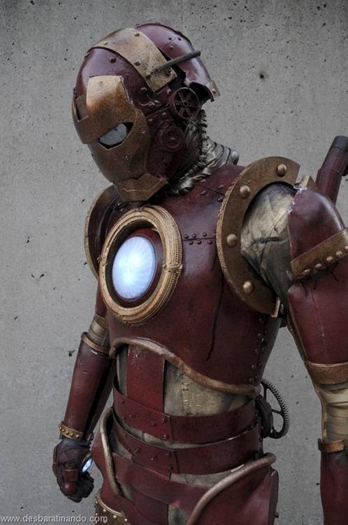 armadura iron man homem de ferro steam punk desbaratinando  (1)