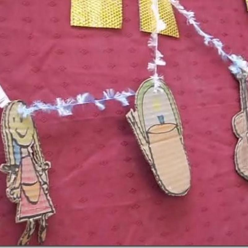 Día de la tradición Argentina: guirnaldas decorativas