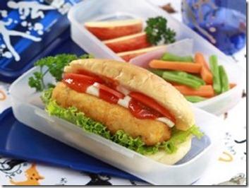 Hotdog Ayam Untuk anak