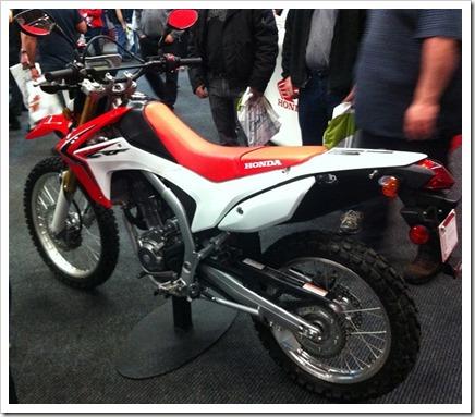 Honda CRF250L 2013 Salon Moto de Montreal