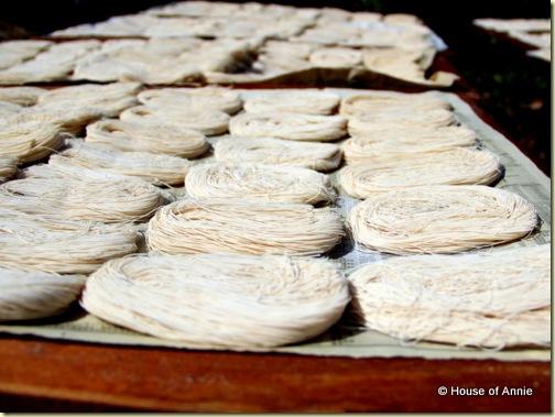 semi dried mee sua