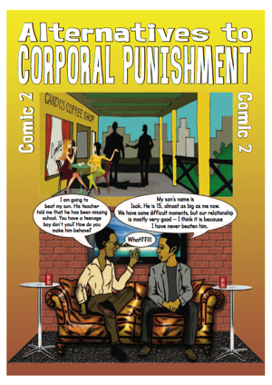 Corporal punishment comic