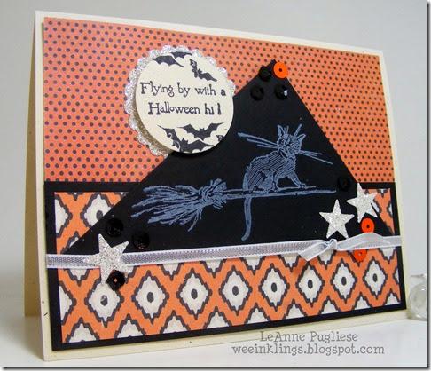 LeAnne Pugliese WeeInklings Halloween Cat
