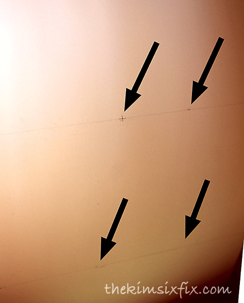 Marking ceiling joists