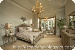 люстры для декора интерьера спальни 2