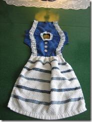 kitchen towel dress 003