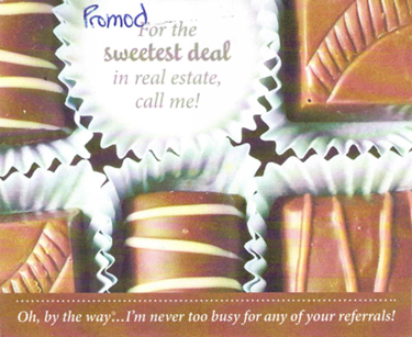 For the sweetest deal in real estate, call me!