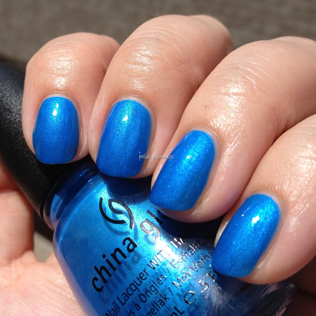 China Glaze Splish Splash (Summer Neons) 3