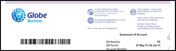 Globe Bill