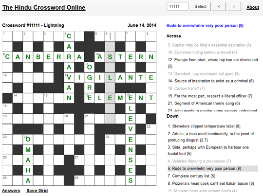 the-hindu-crossword-online-540