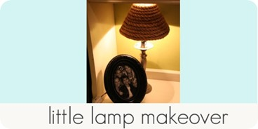 little lamp makeover