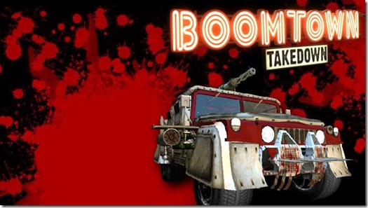 Boomtown Takedown indie game