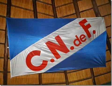Bandera en el quincho