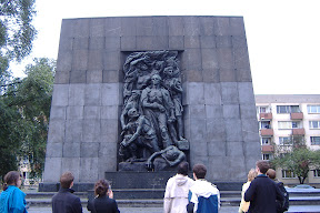 Warsaw Ghetto Uprising monument