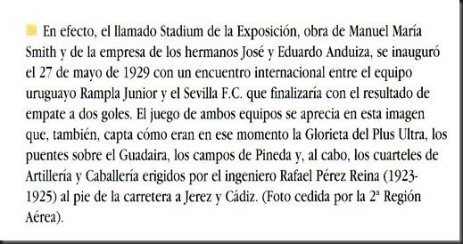 1929 Inuaguración Stadium pie