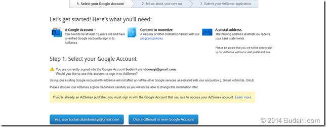 adsense_Select_Account