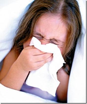 Tratamento caseiro para nariz entupido