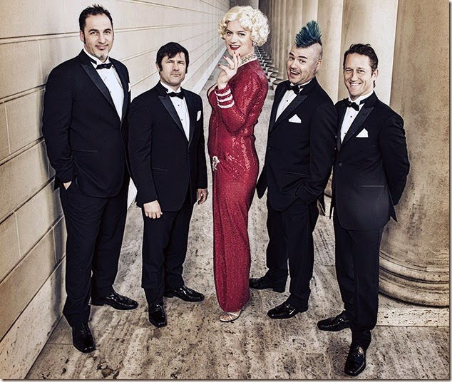 Spike-Slawson---Me First and the Gimme-Gimmes---Are We Not Men - We Are Diva-album--USA-2014