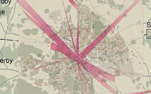 Uppsalas siktlinjer mot Uppsalasiluetten