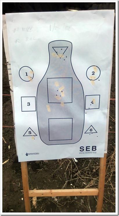 Bill Target 50ft - 1
