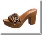 Leopard Print Clog Sandal