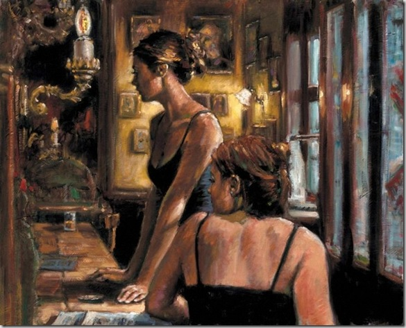 Fabian Perez 1967 - Argentine Figurative painter - Reflections of a Dream - Tutt'Art@ (25)