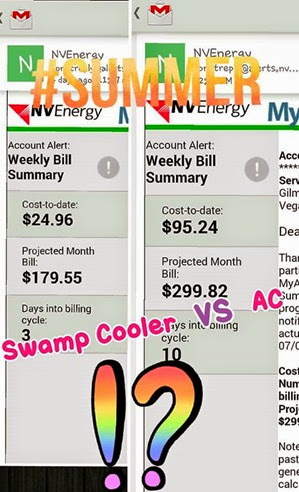 save money in the summer run a swamp cooler