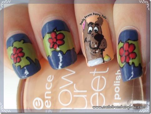 scooby doo nail art 4