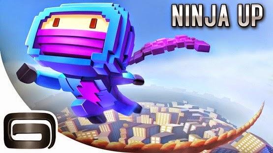 لعبة النينجا النطاط للأيفون والأيباد Ninja UP!