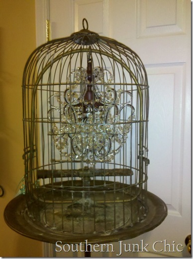 birdcage chandy top view