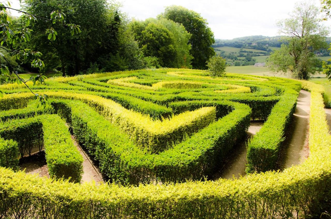 Green gardens Painswick Rococo