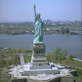 Statue of Liberty on Liberty Island, New Jersey