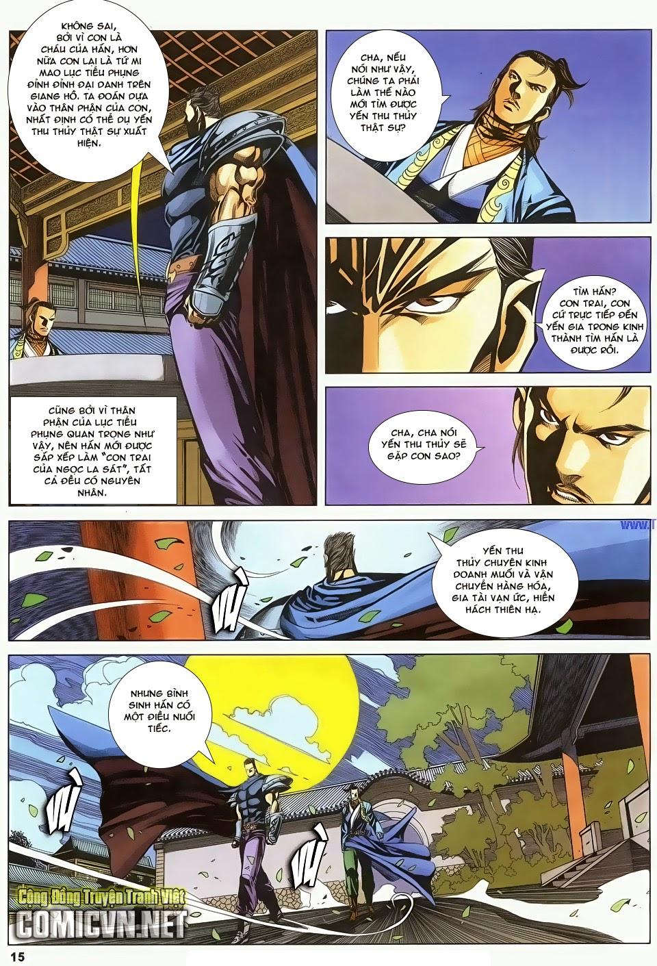 Cổ Long Quần Hiệp Truyện chap 83 - Trang 15