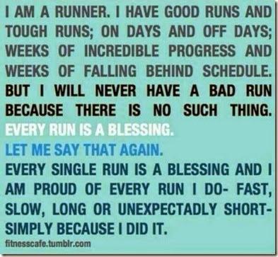 Motivation in Running