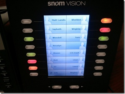 snom vision UI fw 1.2.4