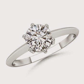 Diamond Ring for Valentine Day