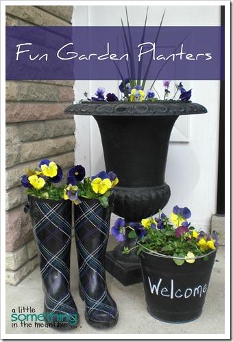 Fun Garden Planters WM Banner