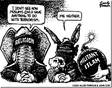 GOP-Dems Blind to Islam