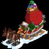 santas sleigh 2011