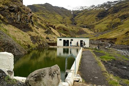 Piscina exterioara Islanda