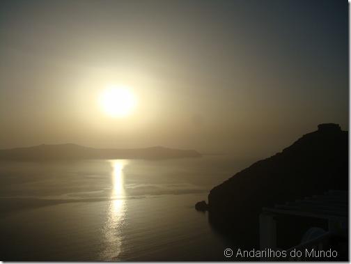 Por do Sol Santorini Grecia Imerovigli